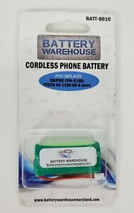 Cordless Phone Battery 6010 Empire CPH-515D Vtech 89-1330-00 and More 2.4v 750mA