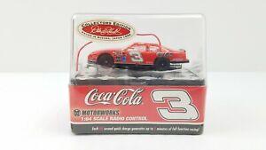27 MHz 1:64 Scale Dale Earnhardt Sr #3 R/C Car Vintage 1998 Coca Cola NOS Sealed