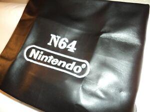 Nintendo N64 Dustcover with White Logo - Custom Made - NEW!!  NICE!!