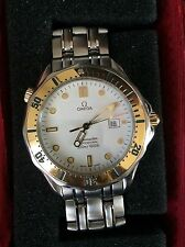 Stainless Steel Band Wristwatches with 12-hour dial OMEGA