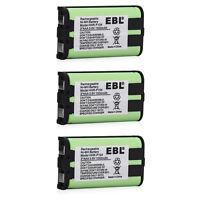 3x 1000mAh Cordless Phone Battery For Panasonic HHR-P104 HHRP104 Type 29 23968