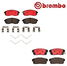 Front & Rear Disc Brake Pads Brembo P56021N P49035N for Infiniti G20 I30 I35