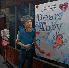 Bob-Dylan- First-Try-at-Social-Commentary-with- Dear-Abby-Sign-Greenwich-Village