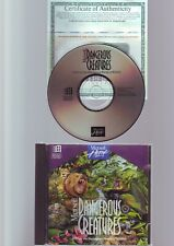 MICROSOFT DANGEROUS CREATURES - VINTAGE 1994 PC SOFTWARE - ORIGINAL JC EDITION