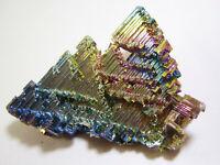 +++ Wismut Kristall // synthetisch +++ bismuth crystal Stufe Sammlung G90