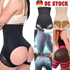 Damen Spitze Taillen former String Bauchweg Form Mieder Body Shaper Miederhose