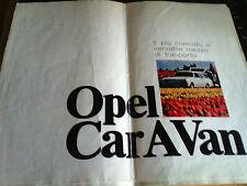 DEPLIANT BROCHURE OPEL KADETT 1969 - 1970