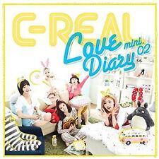 K-Pop C-REAL Mini Album Vol. 2 - Love Diary (CREAL02MN)