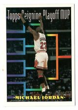Michael Jordan 1994 Topps REIGNING PLAYOFF MVP Official Basketball Trading Card