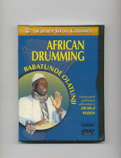 AFRICAN DRUMMING DVD BABATUNDE OLATUNJI DJEMBE DRUMS