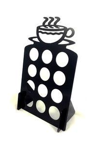 Black K Cup Dispenser Coffee  Keurig & tree pod holder Acrylic
