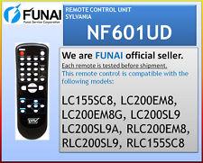 NEW SYLVANIA  EMERSON  REMOTE NF601UD LC155SC8 LC200EM8 LC200EM8G LC200SL9