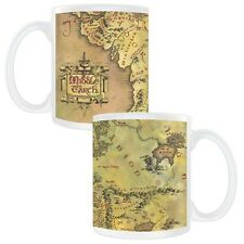 BRAND NEW! The Lord of the Rings Middle-earth Map Mug