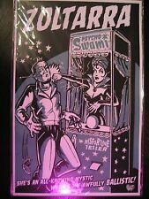 Print PoStEr Fortune Teller Vending Machine Odd Oddity Curiosity Freak Strange
