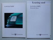 Prospekt Lancia Delta HPE 2. Serie, 4.1995, 24 S. + Techn. Daten/Ausstattungen
