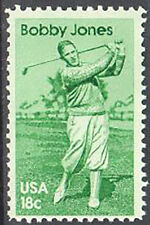 SC#1933 - 18c Sports Personalities: Bobby Jones Single MNH