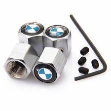 BMW Antirrobo De Metal Cromado Neumático Válvula Polvo Tapa