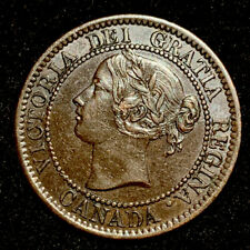 Old Canadian Coins 1858 Canada Early Key Date Large Cent Highgrade Beauty