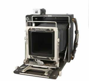 Graflex 4x5 Crown Graphic Film Camera Body, with Viewfinder *AS-IS*