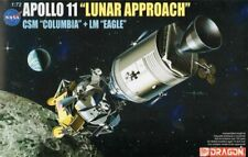Dragon 11001 - Apollo 11 'Lunar Approach' CSM 'Columbia' + LM 'Eagle' - 1:72