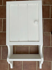 Wall Mounted Cupboard with additional shelf finished in F&B Pointing