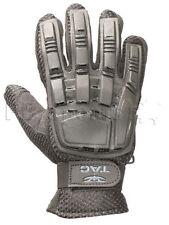 Valken V-Tac Black Tactical Full Finger Paintball Gloves Large Lg L New