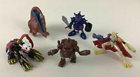 Digimon Digital Monsters Mini Figures 5pc Lot Omegamon Vintage 2000 Bandai Toy