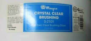 MAYCO Ceramic Glaze S-2101  { 5 }  Gallon Liquidation Clear Brushing Food Safe