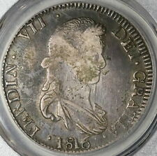 1816-Zs PCGS VF 30 Mexico 8 Reales War Independence Silver Coin (20022303C)