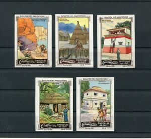 Cinderella / Poster Stamps Cailler's Chocolat France 1910's