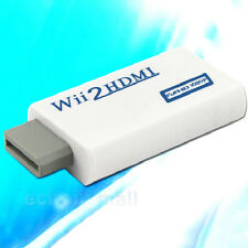 Wii To HDMI 720P/1080P Upscaling Converter Adapter 3.5mm Audio Video Output