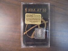 """NEW SEALED """"NBA At 50 Music Celebration   Cassette Tape (G)"""