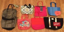 Amazing 10 Pc Lot Victoria'S Secret Pink Lancome Tote Makeup Bag Case Dog Purse
