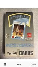 Collegiate Collection North Carolina Trading Cards Factory Sealed 36 Pack Jordan