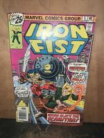 Marvel Comics Group iron fist June 1976 issue.First Appearance of Scimitar