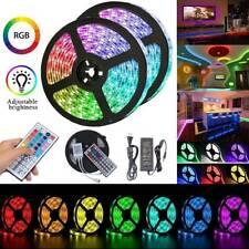 LED RGB Strip Light 1-30m 5050 SMD Waterproof Flexible 44Key Remote Power Supply