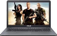 "ASUS 15.6"" Laptop Intel Pentium 2.56GHz 4GB 1TB DVD+RW WebCam WiFi BT Windows 10"