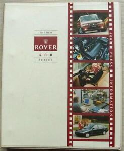 ROVER 400 SERIES Car Press Pack Ring Binder May 1995 414 414i 416i 416Si 416SLi