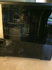 Gaming PC shell. Case, Case Fans, Mobo, PSU, Mouse and keyboard. Ready to build!