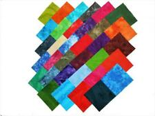 New listing 68 5 Inch Quilting Squares Tie Dyes Charm Pack 34 Different Colorways