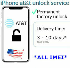AT&T Premium iPhone Unlock Service (All model supported)