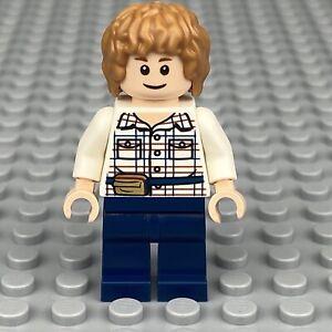 LEGO Jurassic World- GRAY Minifigure from Set 75916 jw002