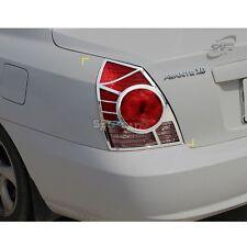 K-541 Car Chrome Tail Lamp Cover for Hyundai Elantra / Avante XD 4DR 2003-2005