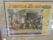 2 Movie Posters Cuban Rare The Battle Hymn original