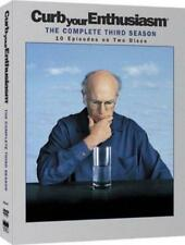 CURB YOUR ENTHUSIASM : Complete Third Season Larry David HBO Comedy DVD *EXC*