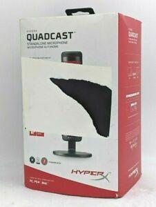 HyperX QuadCast Standalone Condenser Gaming Microphone - HX-MICQC-BK -NR4131