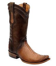 1J34PH Python Western Boots made by Cuadra