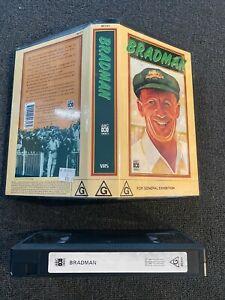 "Rare Cricket VHS Video - ""Bradman"" (1990) - Not released on DVD"
