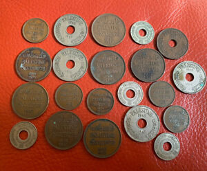 Palestine Lot's Of Coins