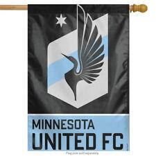 """Minnesota United FC MLS House Flag Vertical Licensed Soccer 28"""" X 40"""""""